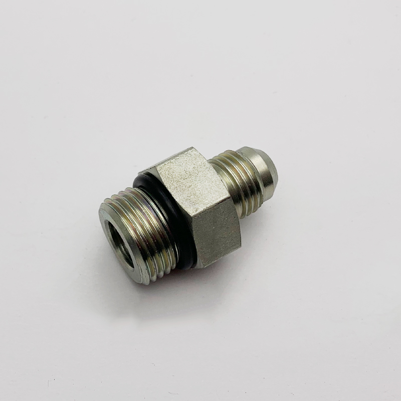 1JO JIC MALE 74°CONE/ SAE O-RING BOSS hexagon adapter