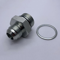 1JG JIC MALE 74°CONE/O-RING MALE bsp HYDRAULIC fittings