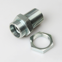 6C METRIC MALE 24°CONE LIGHT TYPE BULKHEAD HYDRAULIC system components