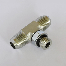 6803 Flare tube ends / straight thread O-ring SAE 070429 Straight Thread Branch Tee hydraulic pipe fittings